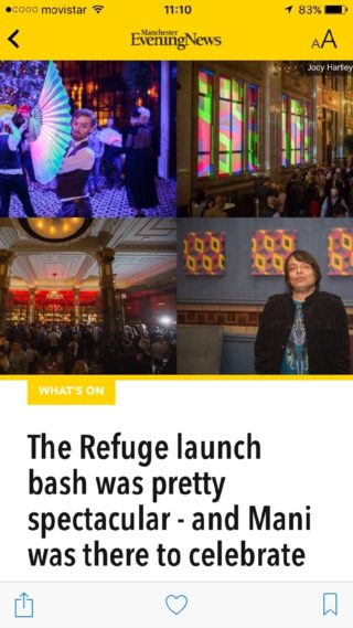 Refuge – Official Opening